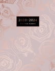 2020-2024 Five Year Planner: Large 60-Month Schedule Organizer with Marble Cover (Volume 6) Cover Image