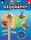 180 Days of Geography for Fourth Grade: Practice, Assess, Diagnose (180 Days of Practice) Cover Image