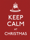 Keep Calm at Christmas (Keep Calm and Carry On) Cover Image