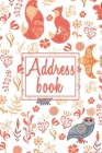 Address Book: Alphabetical Organizer With Birthday And Address Book with contacts, addresses, work and mobile numbers, social media, Cover Image