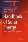 Handbook of Solar Energy: Theory, Analysis and Applications (Energy Systems in Electrical Engineering) Cover Image