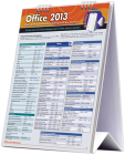 Microsoft Office 2013 Desktop Easel Book: A Quickstudy Reference Tool for Excel, Word, & PowerPoint Including Quickkey Shortcuts Cover Image
