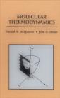 Molecular Thermodynamics Cover Image