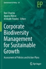 Corporate Biodiversity Management for Sustainable Growth: Assessment of Policies and Action Plans (Environment & Policy #59) Cover Image