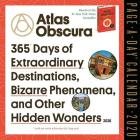 Atlas Obscura Page-A-Day Calendar 2020 Cover Image