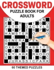 Crossword Book for Adults Cover Image