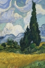 Vincent van Gogh's Wheat Field with Cypresses 4x6