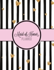 Maid of Honor Planner: Wedding Logbook for Bridesmaid - Bachelorette Party - Bridal Shower - Calendar and Organizer for Important Dates and A Cover Image
