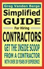 Simplified Guide For Hiring Contractors Cover Image