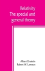 Relativity; the special and general theory Cover Image