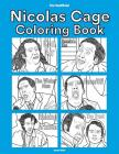 The Unofficial Nicolas Cage Coloring Book Cover Image