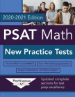 PSAT Math: New Practice Tests, 2020-2021 Edition Cover Image