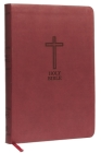 KJV, Thinline Bible, Large Print, Imitation Leather, Red Letter Edition Cover Image