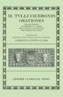 Orationes: Volume I: Pro Sex. Roscio, de Imperio Cn. Pompei, Pro Cluentio, in Catilinam, Pro Murena, Pro Caelio Cover Image