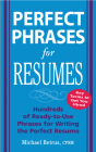 Perfect Phrases for Resumes Cover Image