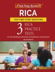 RICA Test Prep Study Questions: Three RICA Practice Tests for the Reading Instruction Competence Assessment [2nd Edition] Cover Image