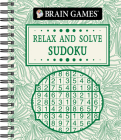 Brain Games - Relax and Solve: Sudoku (Toile) Cover Image