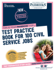 Test Practice Book for 100 Civil Service Jobs, Volume 5 Cover Image