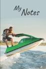 My notes: Jetski Notebook - Size 6