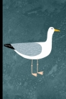 Notes: A Blank Squared Paper Journal with Seagull Cover Art Cover Image