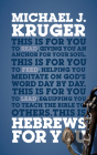 Hebrews for You: Giving You an Anchor for the Soul (God's Word for You) Cover Image