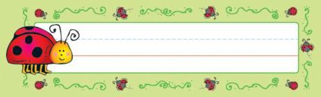 Ladybugs Nameplates Cover Image