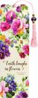 Peony Garden Beaded Bookmark Cover Image