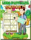 Libro di attività Sudoku per bambini 6X6: libri per bambini - puzzle di logica - libro di puzzle - sudoku bambino facile Cover Image
