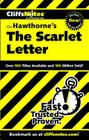 CliffsNotes on Hawthorne's The Scarlet Letter Cover Image
