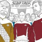 Star Trek: The Next Generation Adult Coloring Book-Continuing Missions Cover Image