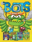 Bots 4 Books in 1!: The Most Annoying Robots in the Universe; The Good, the Bad, and the Cowbots; 20,000 Robots Under the Sea; The Dragon Bots Cover Image
