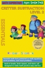 Math Superstars Subtraction Level 2, Library Hardcover Edition: Essential Math Facts for Ages 5 - 8 Cover Image