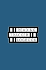 Reading Tracker Logbook: Reading Journal, Book Review, Great for 100 Books, Cream Paper, 6″ x 9″, 110+ Pages Cover Image