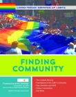 Living Proud! Finding Community (Living Proud! Growing Up Lgbtq #10) Cover Image