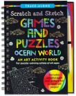Scratch & Sketch Games & Puzzles: Ocean World (Trace Along) Cover Image