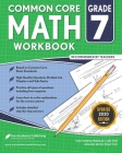 7th grade Math Workbook: CommonCore Math Workbook Cover Image