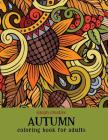 Simply Creative Autumn Coloring Book for Adults Cover Image