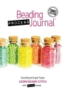 Beading Process Journal Travel Edition: Loom/Square Stitch for Round Beads Cover Image