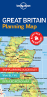 Lonely Planet Great Britain Planning Map (Planning Maps) Cover Image