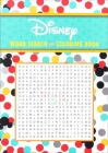 Disney Word Search and Coloring Book Cover Image