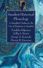 Sanskrit Historical Phonology Cover Image