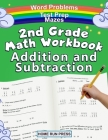 2nd Grade Math Workbook Addition and Subtraction: Second Grade Workbook, Timed Tests, Ages 4 to 8 Years Cover Image