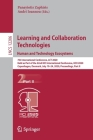 Learning and Collaboration Technologies. Human and Technology Ecosystems: 7th International Conference, Lct 2020, Held as Part of the 22nd Hci Interna Cover Image