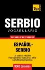 Vocabulario español-serbio - 9000 palabras más usadas Cover Image