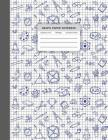 Graph Paper Notebook: Composition Notebook Squared Graphing Paper 5 Squares Per Inch Square Grid Student Teacher Education School College St Cover Image