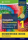 Complete Mathematics for Cambridge Secondary 1 Homework Book 1 (Pack of 15): For Cambridge Checkpoint and Beyond Cover Image