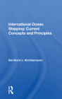 International Ocean Shipping: Current Concepts and Principles Cover Image
