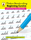 Modern Handwriting: Beginning Cursive, Grades 1 - 3 Cover Image