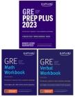 GRE Complete 2023: 3-Book Set: 6 Practice Tests + Proven Strategies + Online (Kaplan Test Prep) Cover Image