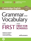 Grammar and Vocabulary for First and First for Schools Book with Answers and Audio Cover Image